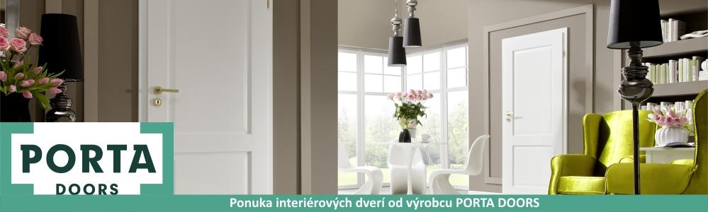Ponuka interiérových dverí od výrobcu PORTA DOORS
